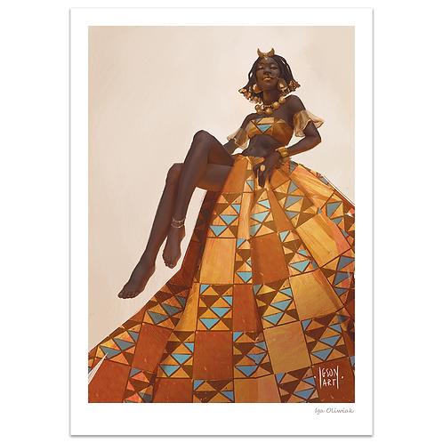 Hyerenn Dress Print