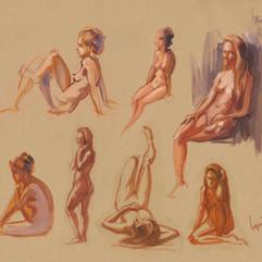 Life drawing session at Sami's