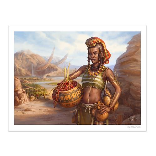 Earth Asiman Desert Print