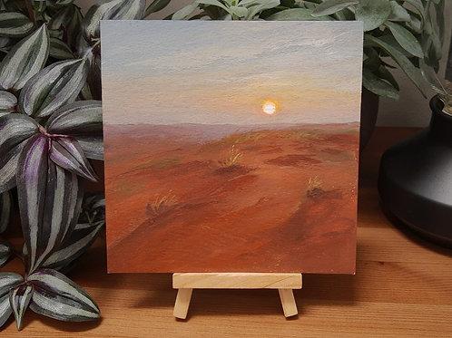 Gabon Desert Sunset