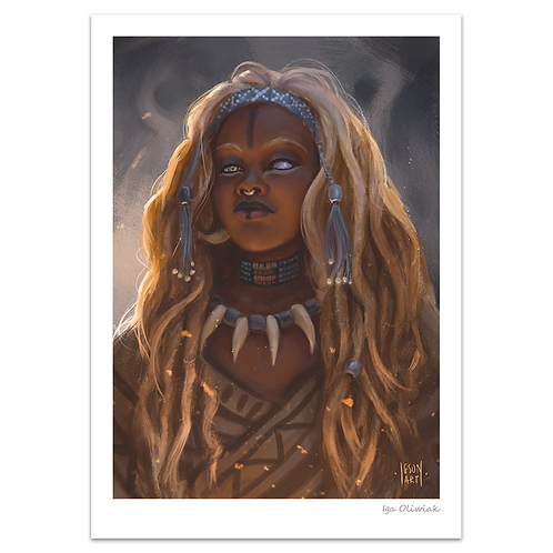 Lionblood Witch Doctor Print