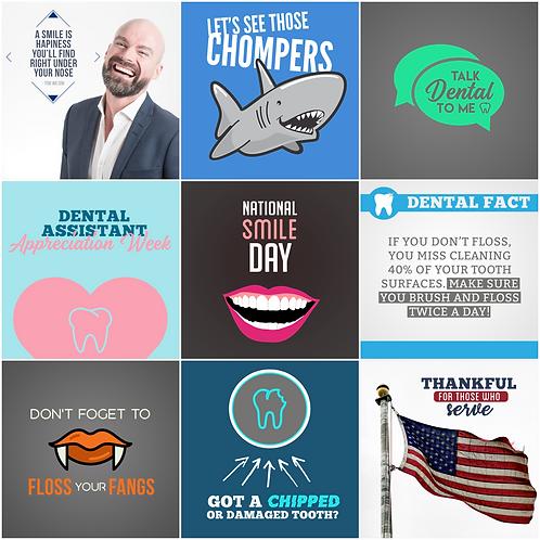 Dentist Social Media Pack