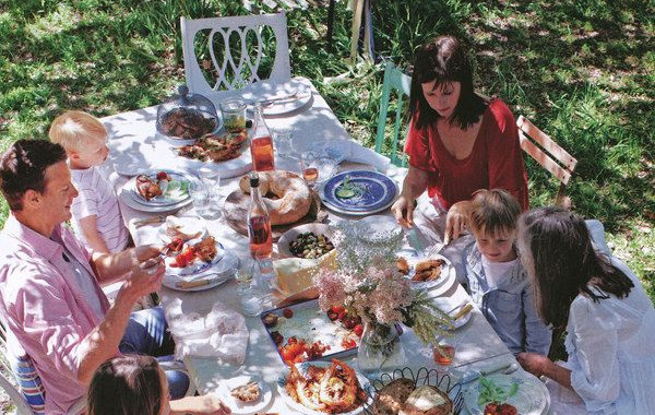 Group dinner at cottage 2.jpg