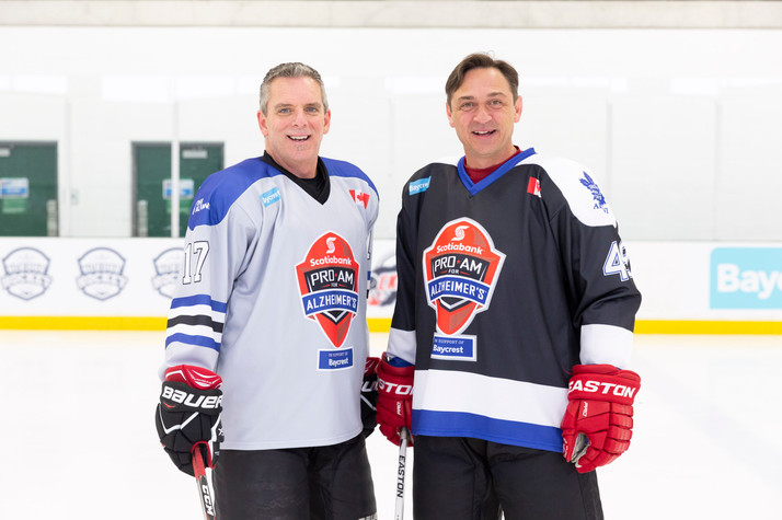 Jamie and Brent Gretzky