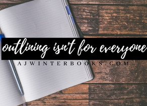 Outlining is Not For Everyone | Writing with Amanda