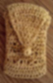 two pockets, crochet