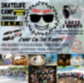 Ramp Attak - SkateCamp JANUARY 2020 new