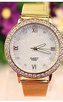 Ceas Dama elegant/ casual, gold edition