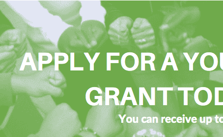 Apply for a Youth Grant Today!