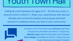 Youth-Led District 7 Town Hall