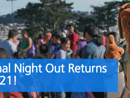 National Night Out Returns for 2021!