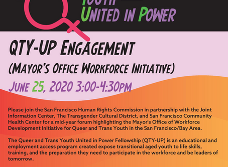 The Queer & Trans Youth United in Power Fellowship (QTY-UP)