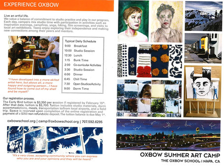 Oxbow Summer Art Camp
