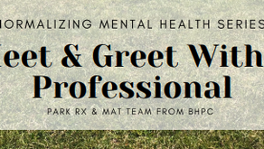 Meet and Greet with a Mental Health Professional on June 12