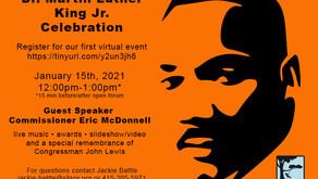 37th Annual Virtual MLK Celebration on January 15