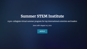 Summer STEM Institute Applications Now Open