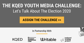 The KQED Youth Media Challenge