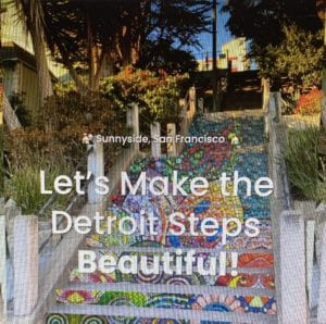 Detroit Steps Project [Fundraising Event, Art Contest, and Raffle]