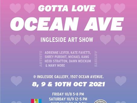 Ocean Ave Art Show