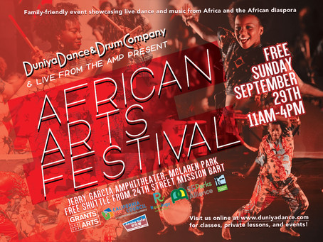 Duniya Presents: African Arts Festival
