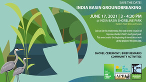 India Basin Groundbreaking on June 17