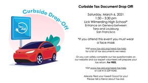 Tax-Aid Curbside Tax Document Drop Off