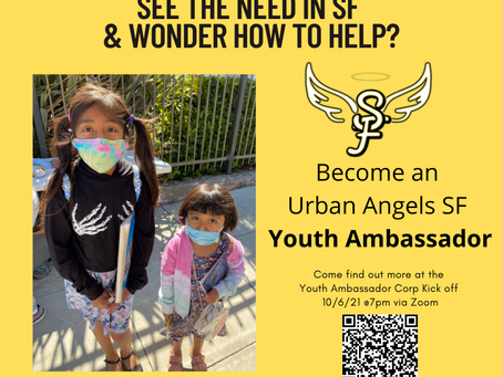 Become an Urban Angels SF Youth Ambassador
