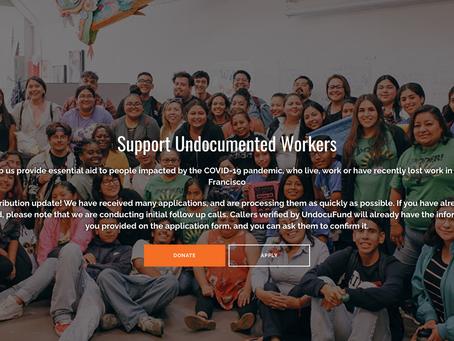 UndocuFund SF Volunteers Needed