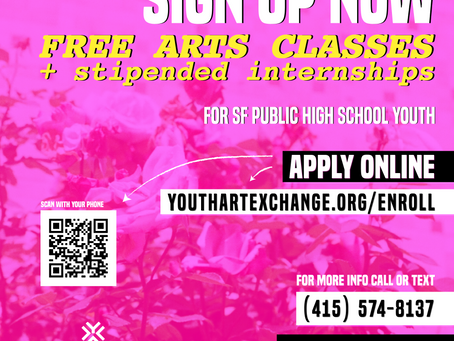 Youth Art Exchange [Apply Now!]
