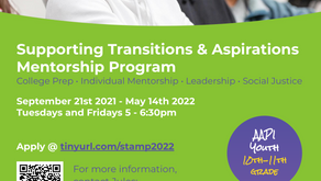 Supporting Transitions & Aspirations Mentorship Program [AAPI Youth 10th-11th Grade]