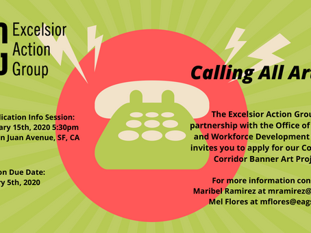 Excelsior Action Group | Calling All Artists!