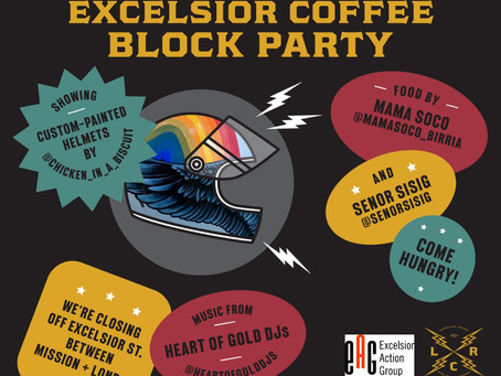 Excelsior Coffee Block Party