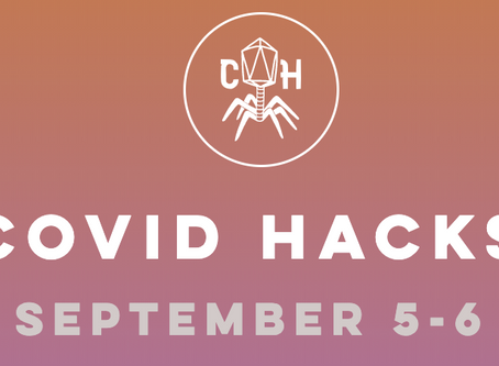 COVID HACKS [September 5-6] - Virtual Hackathon