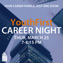 YouthFirst Career Night: Four Career Panels, Just One Zoom