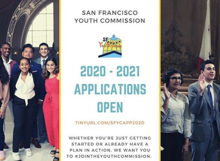 Apply for the SF Youth Commission!