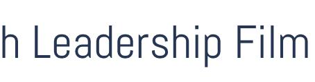 Youth Leadership Film Club