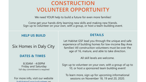 Habitat for Humanity Opportunities