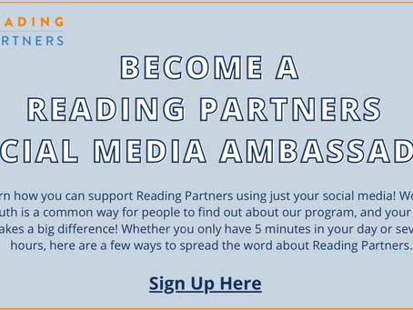 Reading Partners Volunteer Opportunities