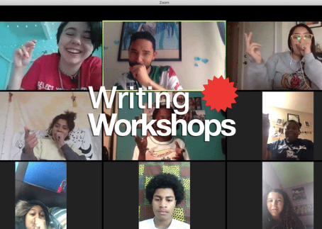 Online Youth Writing Workshops