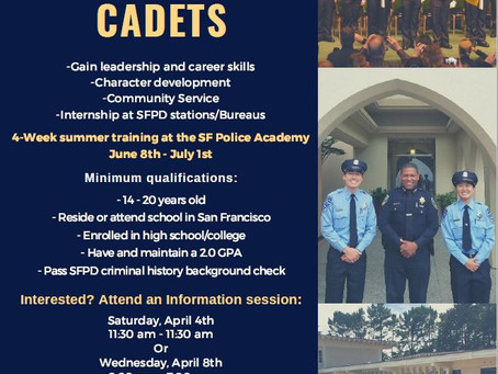 Apply for the Summer Cadet Academy