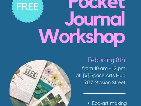 Free Valentine themed art workshop this Saturday 2/8!