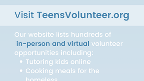 More Volunteer Opportunities - TeensVolunteer.org