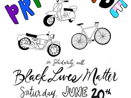 D10 Pride Ride in Solidarity with Black Lives Matter