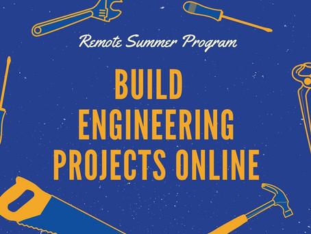 Remote Summer Program: Bluestamp Engineering