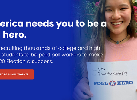 Paid Opportunity: High School & College Poll Workers