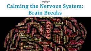 Calming the Nervous System: Brain Breaks [Free Webinar]