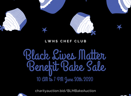 Student Bake Auction for Black Lives Matter