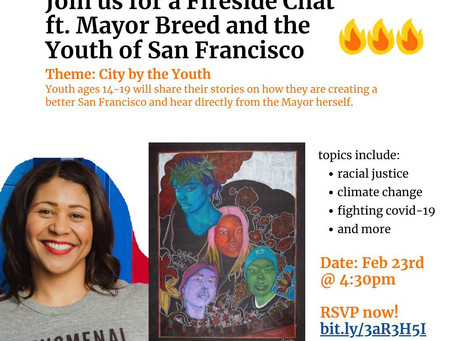 Fireside Chat ft. Mayor Breed and the Youth of San Francisco
