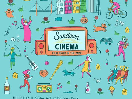 Sundown Cinema Returns to Dolores Park on August 27