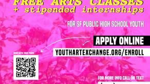 Youth Art Exchange - Enroll for Fall 2021 Programs